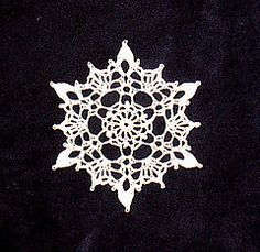 (Crocheted) All the crocheted snowflakes on Ravelry.  Now I will *never* be able to pick *one* to start with.