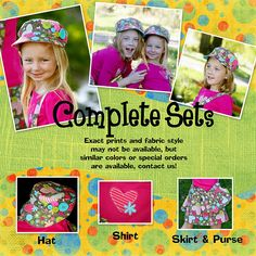 Cutest outfits.  Great quality!