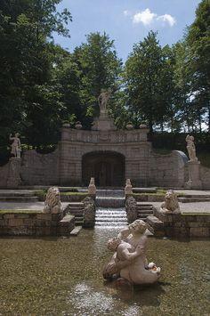 Hellbrunn Palace - Near Morzg, Austria