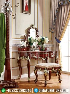 Cheap Bedroom Dressers, Cheap Bedroom Sets, Bedroom With Bath, Wood Bedroom, Dressing Chair, Solid Wood Dresser, Best Interior Design, Interior Ideas, Quality Furniture