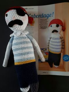 A L Abordage, le petit pirate d après Caro Tricote pour le magazine Prima