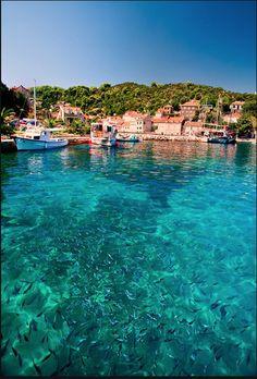 Elafits Island, Croatia. Our tips for 25 places to see in Croatia: http://www.europealacarte.co.uk/blog/2012/01/05/what-to-do-in-croatia/