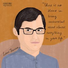 I just love Louis Theroux Portrait Illustration, Just Love, Famous People, Portraits, Illustrations, Movie Posters, Life, Head Shots, Illustration