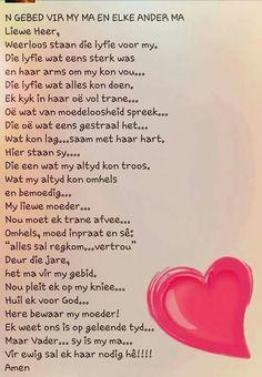 Gebed vir my Ma
