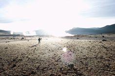 geisers en Uyunu, Bolivia.