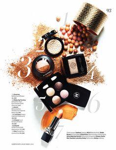 Beauty Editorial - SV/Saber Viver, December 2014 on Behance