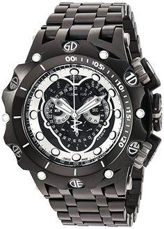 8f29a3e40c4 Invicta Men s 20421 Venom Analog Swiss quartz Black Watch