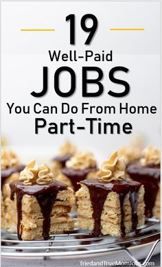 Are you looking for a job online that can be done part-time? Perfect, because we've compiled a list of the best part-time jobs online that people are doing today, and they pay well! Make Money Today, Money Saving Mom, Ways To Earn Money, Earn Money From Home, Earn Money Online, Online Jobs, Way To Make Money, Money Fast, Online Earning