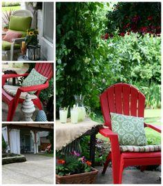 Outdoor Room | TodaysCreativeBlog.net