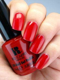 Red Carpet Reddy Red Carpet Manicure, Red Manicure, Red Nails, Gel Nail Varnish, Red Nail Polish, Diy Carpet, Nail Designs, Carpet Colors, Starter Kit