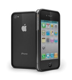 Cygnett Contour Protective Frame for iPhone 4 - Clear/Black
