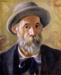 Pierre-Auguste Renoir was born in Limoges on February 25, 1841. From 1862 to 1864 he attends the École des Beaux-Arts in Paris and studies under Charles Gleyre. He meets Frédéric Bazille, Claude Monet and Alfred Sisley. Under the influence of Gustave Courbet he turns to en plein air painting. Besides Gustave Courbet, Eugène Delacroix is another model for Renoir. Together with Monet he develops the new painting style of Impressionism around 1870, he is regarded as one of its main…