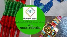 #11 NUDO FESTÓN VERTICAL EN MACRAME 2016