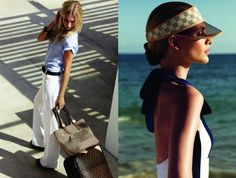Louis Vuitton SS 2012, Poppy Delevigne