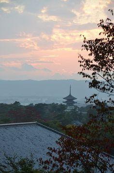 Nara, Japan 奈良の夕暮れ