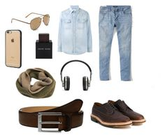 """Без названия #8"" by gloriartist on Polyvore featuring Visvim, Abercrombie & Fitch, To Boot New York, Aéropostale, Incase, Master & Dynamic, Edit. Tokyo, Alden, Lalique и men's fashion"