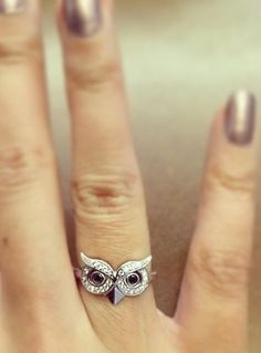 Cute, Owl Ring