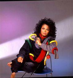 Janet Jackson for Adlib Magazine, 1987 Jo Jackson, Jackson Family, Michael Jackson, Janet Jackson 80s, Janet Jackson Control, Janet Jackson Unbreakable, Afro, Gary Indiana, Vintage Black Glamour