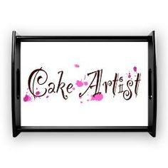 Cake Artist Large Serving Tray