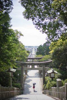 miyajidake shrine, fukutsu-city, fukuoka, japan