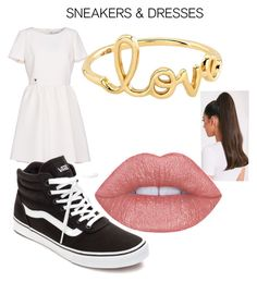 Dresses & Sneakers by ellaboo0473-1 on Polyvore featuring polyvore fashion style Christian Dior Vans Sydney Evan clothing