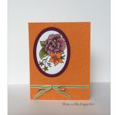 Razzleberry Peonies by Penny627 - Cards and Paper Crafts at Splitcoaststampers