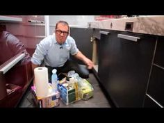 Declutter Under One Sink: #31Days2GetOrganized 2015 Day 8 - YouTube