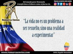 #RomarcaEnvios #TransferenciaDeDinero #VenezolanosEnElMundo #Reflexion