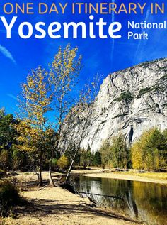 Planning a one-day trip to Yosemite National Park