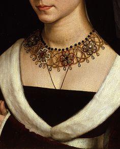 .:. Maria Maddalena Portinari (detail), Hans Memling, c.1470