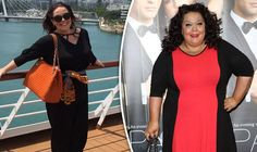 Lisa Riley has gone from a size 30 down to a size 16