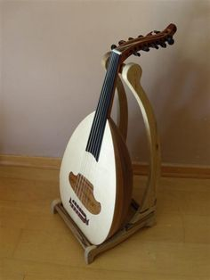 Wooden Oud Stand - Turkis and Arabic size