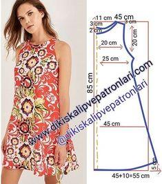 Elbise Kalıbı 38 / 40 beden (M) . Desteklemek i… Dress Pattern size (M). toTo support, please comment & press the begen button. Support to support us, please like and comment❤the Dress Sewing Patterns, Sewing Patterns Free, Free Sewing, Sewing Tutorials, Clothing Patterns, Sewing Projects, Sewing Tips, Sewing Hacks, Summer Dress Patterns