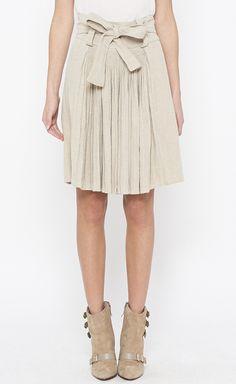 Balenciaga Oatmeal Skirt