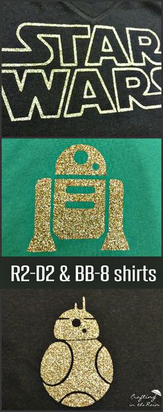 Glitter Star Wars Shirt | Crafting in the Rain-- SVG files included!