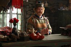 Like a cool wind blowing amazing new images onto the internet, we were thrilled to discover these images of Oaken on Once Upon a Time this morning!