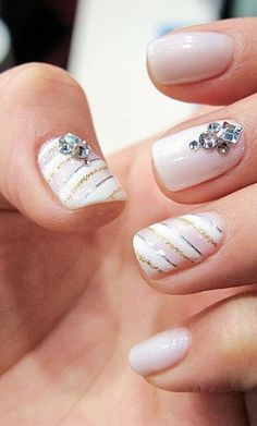 Easy Cute Nail Designs for Short Nails 2014