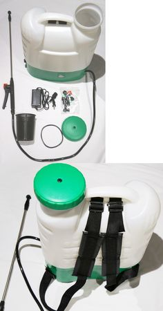 Garden Sprayers 178984: 4 Gallon Poly Tank Cordless Battery Powered Electric Backpack Garden Sprayer -> BUY IT NOW ONLY: $99.99 on eBay!
