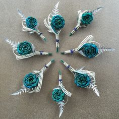 Buttonholes & Corsages - Flaxation