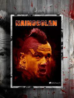 Radja Nainggolan Poster by Belthazor78.deviantart.com on @DeviantArt