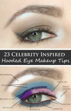Phyrra brings you 23 of the best Celebrity Inspired Hooded Eye Makeup Tips & Tutorials including favorites from Blake Lively, Jennifer Lawrence and Taylor Swift.