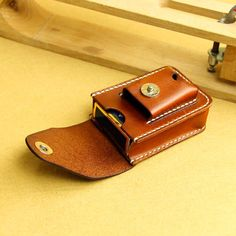 Оригинальный ручной мужские старинный кожаный сигареты чехол легче лучший кожаная сумка пояс купить на AliExpress