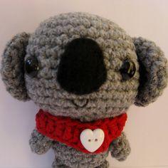Little amigurumi Koala by anapaulaoli on Etsy, $18.00