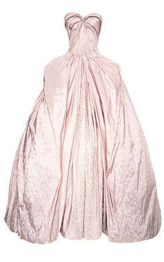 Shop Iris Taffeta Gown by Zac Posen for Preorder on Moda Operandi