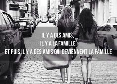 Citation & Proverbe  Image    Description  Amis, famille de coeur