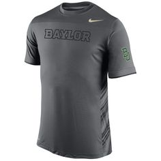 Baylor Bears Nike Speed Top Performance T-Shirt - Anthracite - $34.99