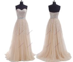 Beautiful Sweetheart Prom Dress/Evening by ColorfulDress on Etsy