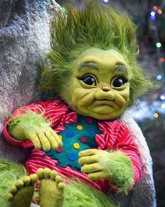 Baby Grinch doll