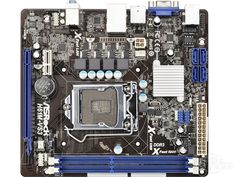 81.99$  Buy now - http://ali3vy.worldwells.pw/go.php?t=32783117088 - Used original for ASRock H61M-VS3 mini ITX 17 * 19 LGA1155 DDR3 for Intel H61 mini itx Mainboard