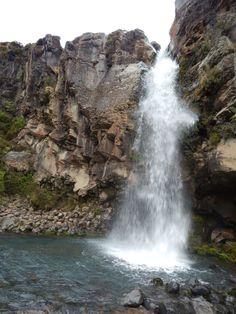 Tongariro waterfall